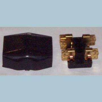 4A   FUSE BOX /& COVER CLASSIC LUCAS TRIUMPH TR3A